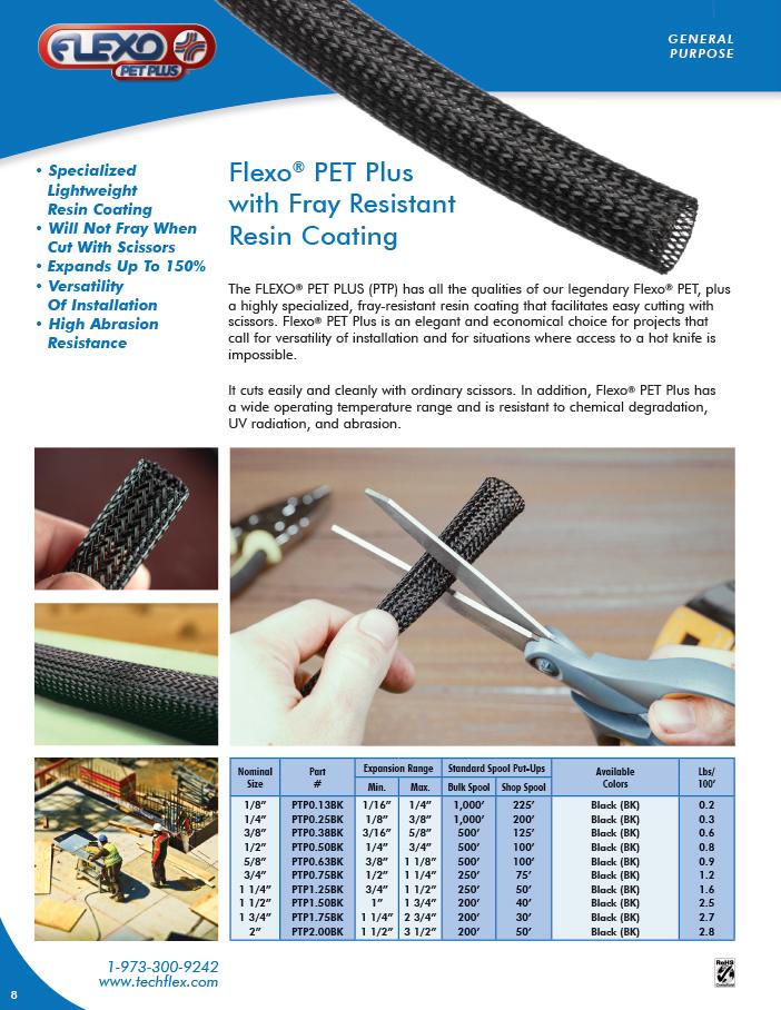 Flexo PET Plus catalog page image