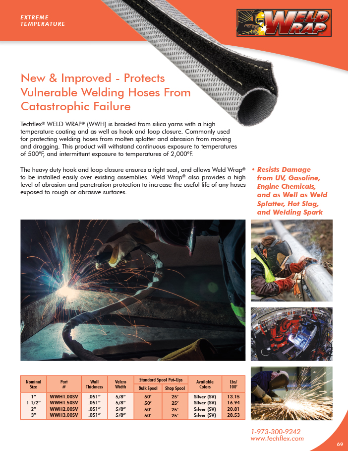 Weld Wrap HD catalog page image