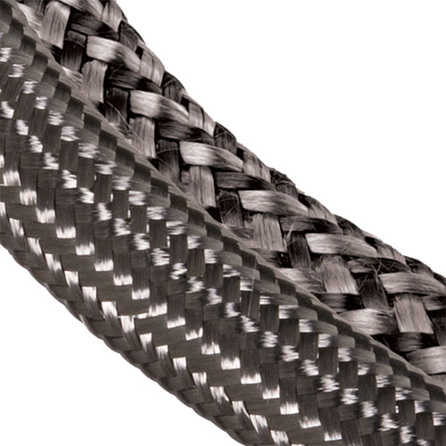 Carbon Fiber Rods >> Techflex - Expandable Braided Carbon Fiber Sleeving