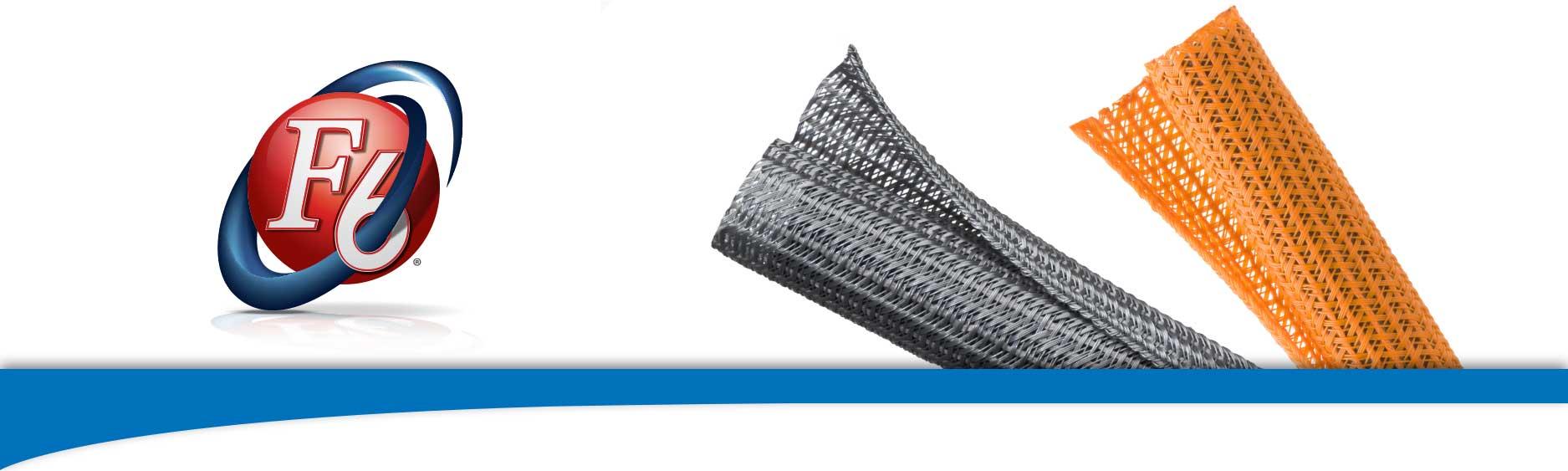 FlexoF6 Semi Rigid Wraparound Braided Sleeving
