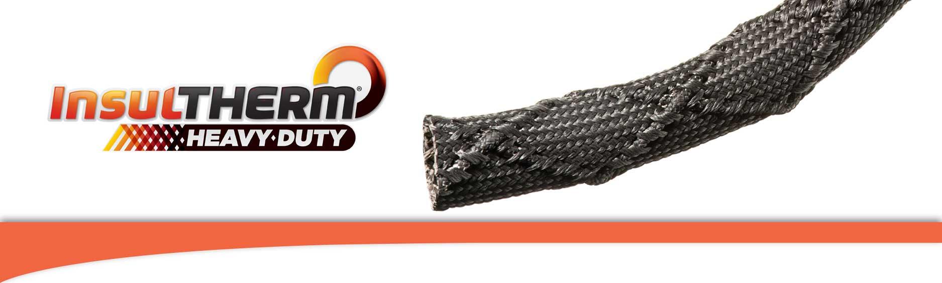 Heavy Duty Fiberglass : Techflex insultherm heavy duty fiberglass