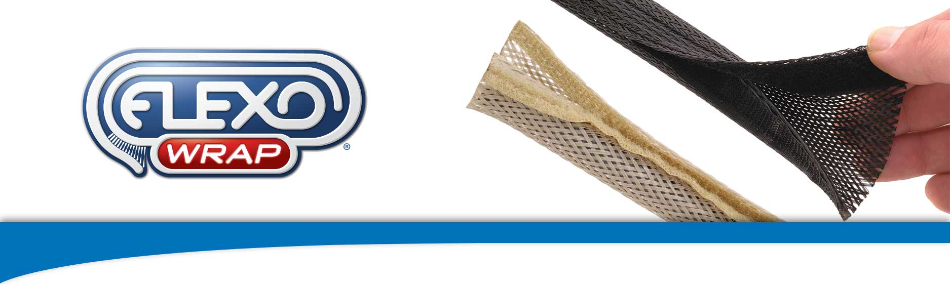 Flexo Wrap Hook & Loop wraparound Sleeving