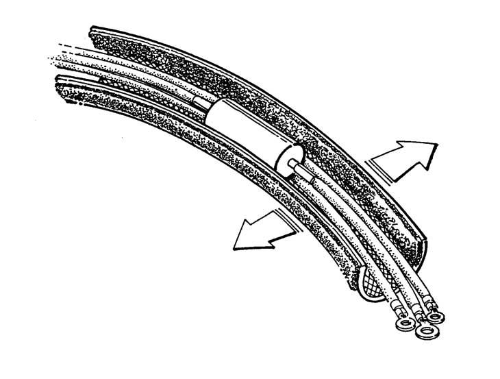 flexo wrap hook  u0026 loop sleeving