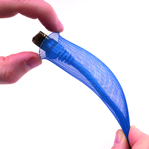 Over Expanded sleeving expands 200%