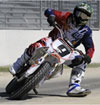 Jared Mees racing