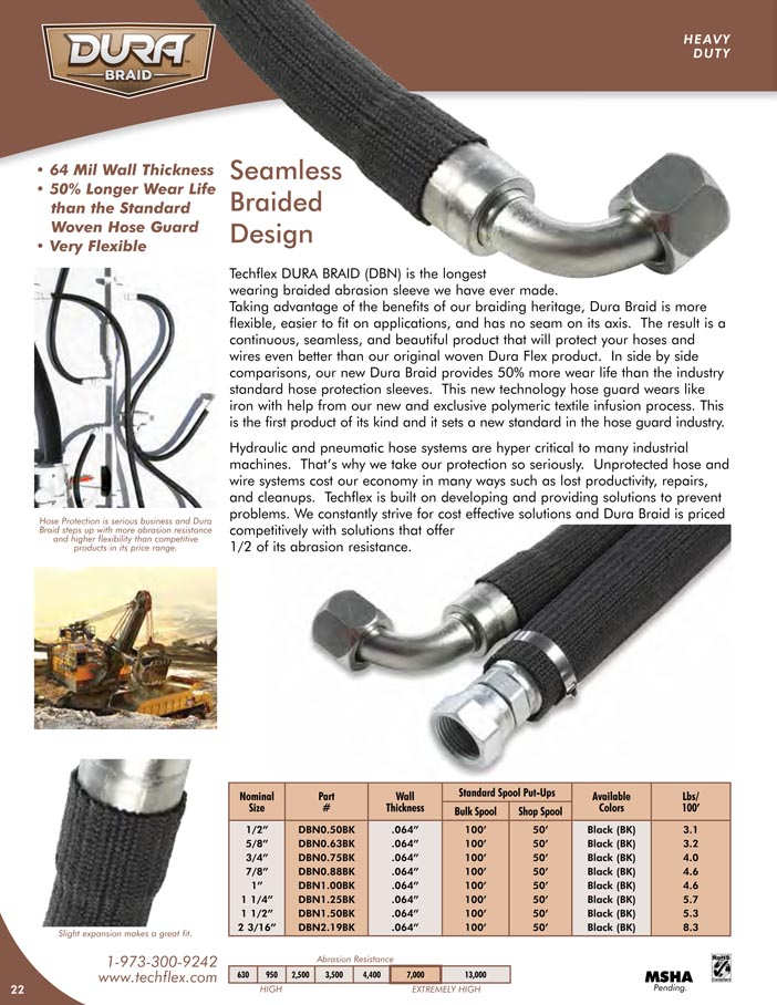 Dura Braid catalog page image