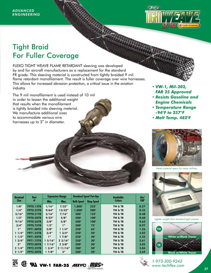 Tight Weave FR catalog page image