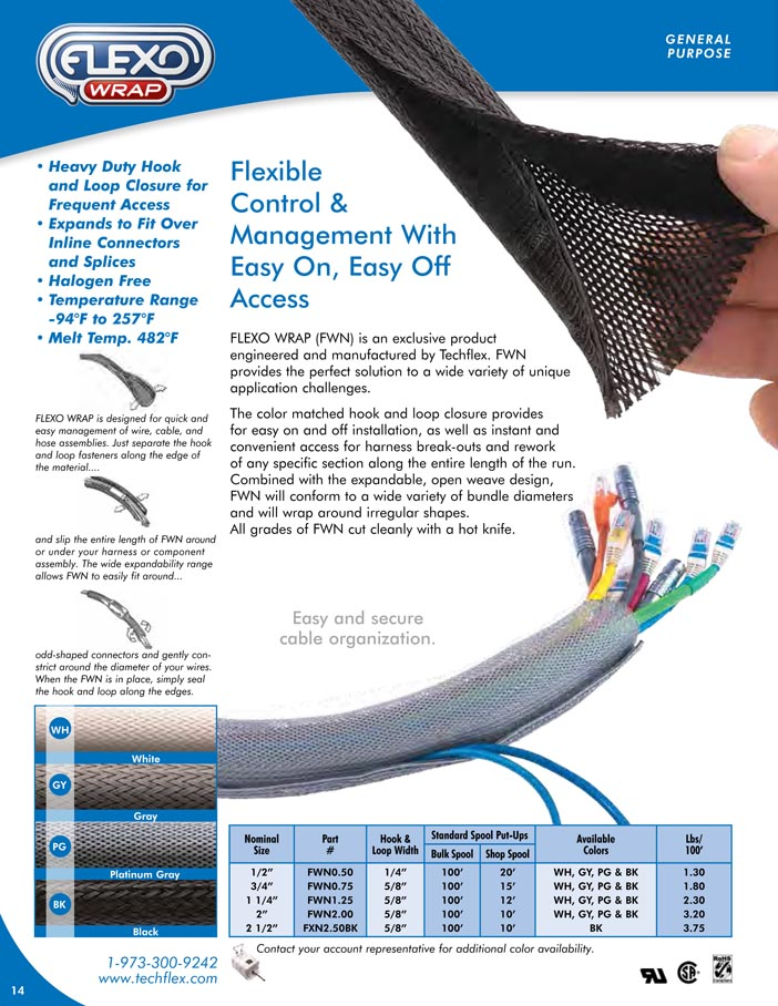 Flexo Wrap catalog page image
