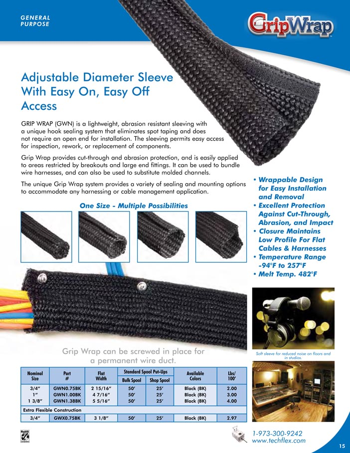 Grip Wrap catalog page image