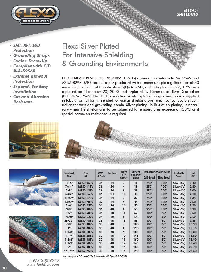 Flexo Silver Plated Image