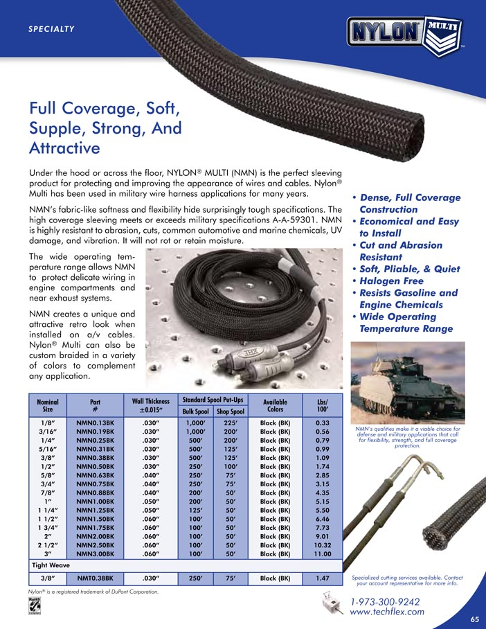 Nylon Multi catalog page image