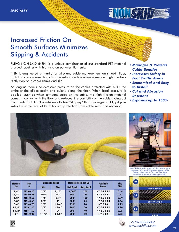 Non-Skid catalog page image