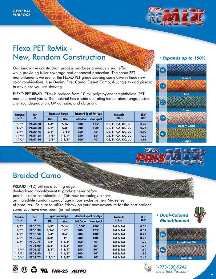 Flexo ReMix Flexo Prismix catalog page image