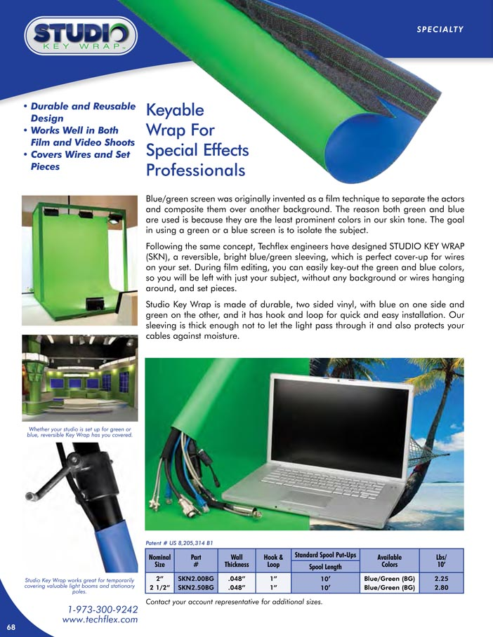 Studio Key Wrap catalog page image
