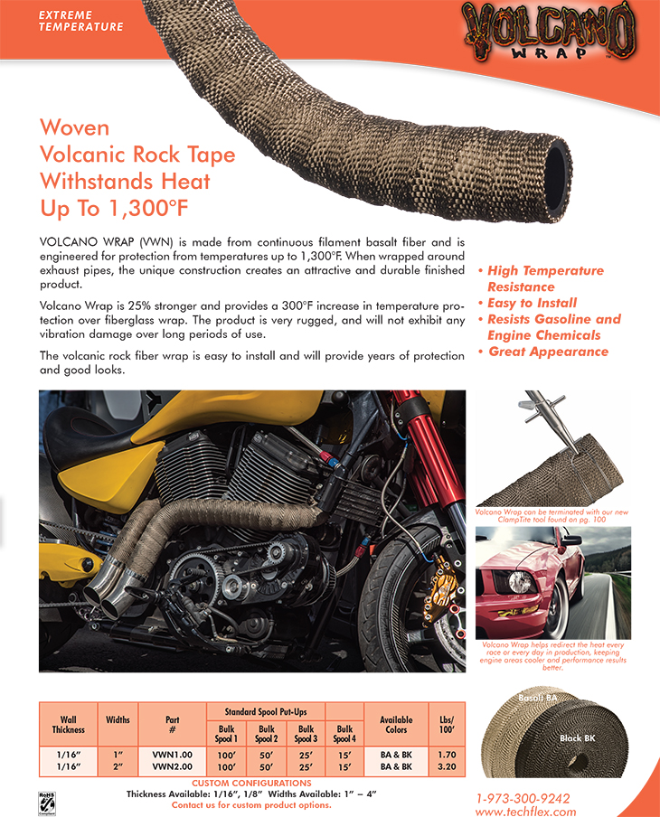 Volcano Wrap catalog page image