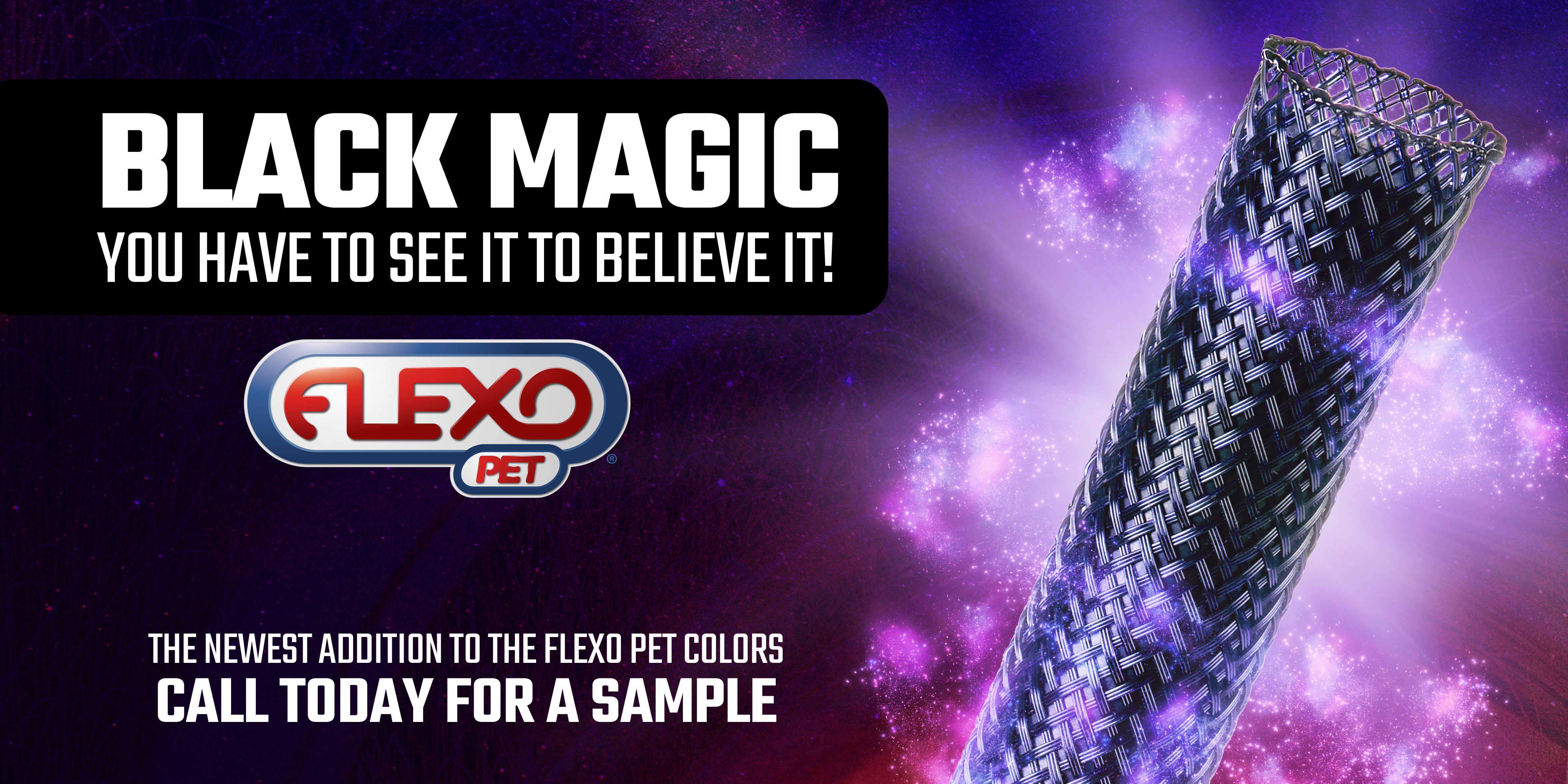 New Flexo Pet - Black Magic