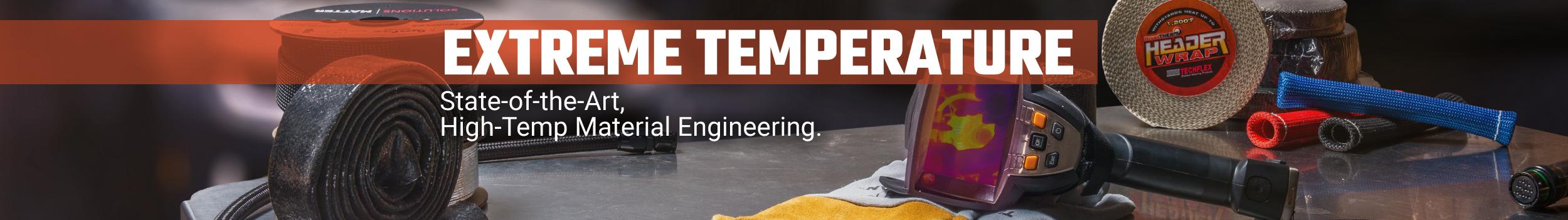 High temp banner