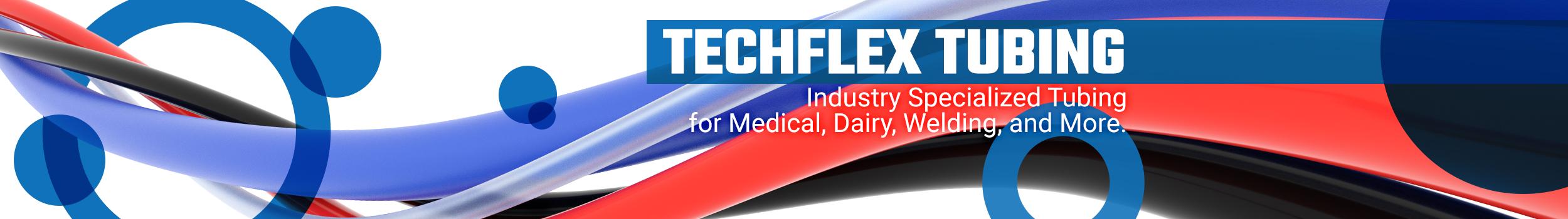 Techflex tubing banner