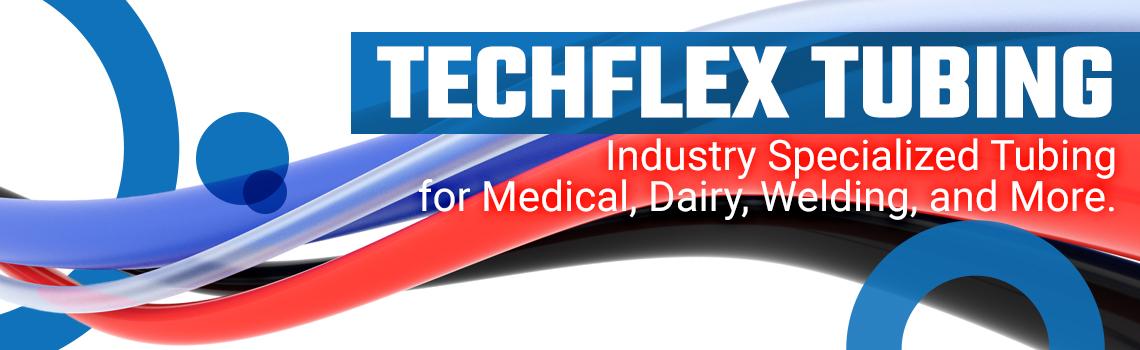 Techflex tubing banner mobile