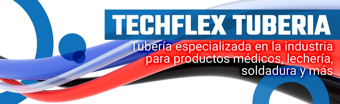 Techflex tubing banner mobile sp