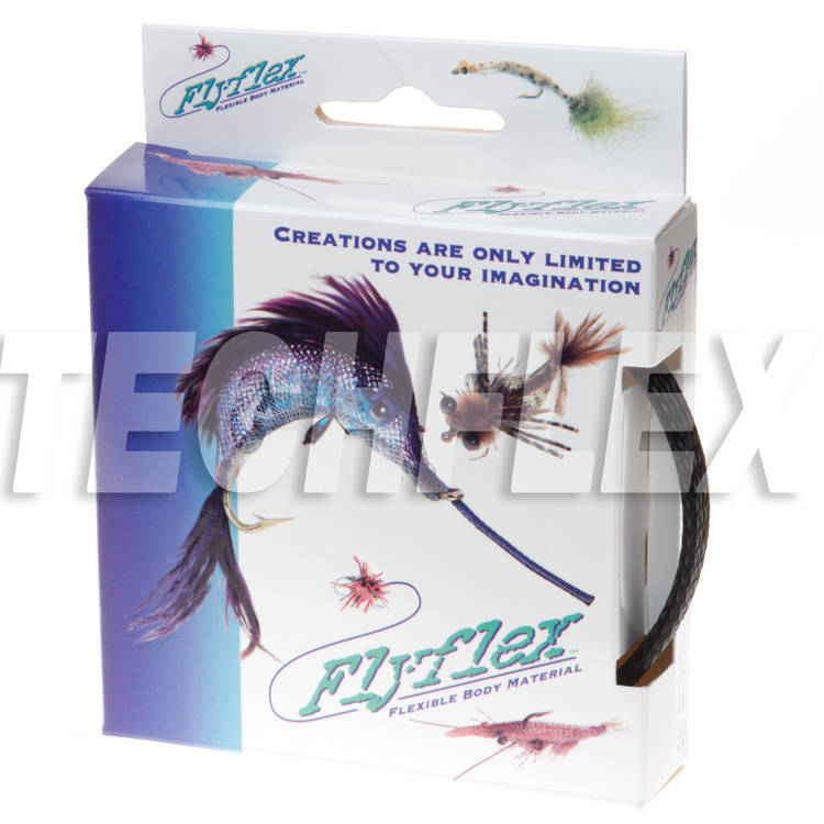"FLYFLEX Pack, 3/8"" Black PET"