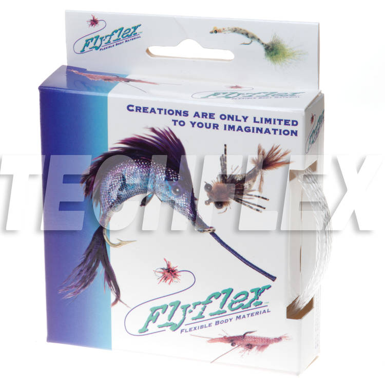 "FLYFLEX Pack, 3/8"" Clear PET"