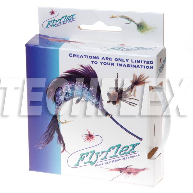 "FLYFLEX Pack, 3/8"" White PET"