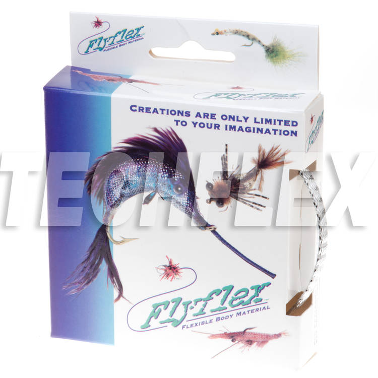 "FLYFLEX Pack 1/4"" Silver PET"