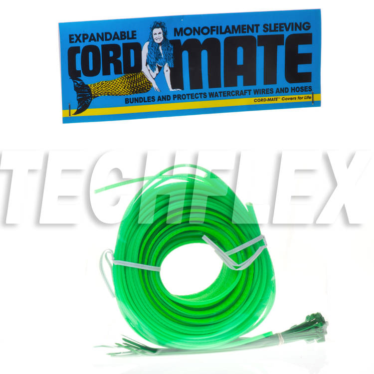 Cord-Mate - Watercraft Engine Compartment Trick Out Kit, Neon Green