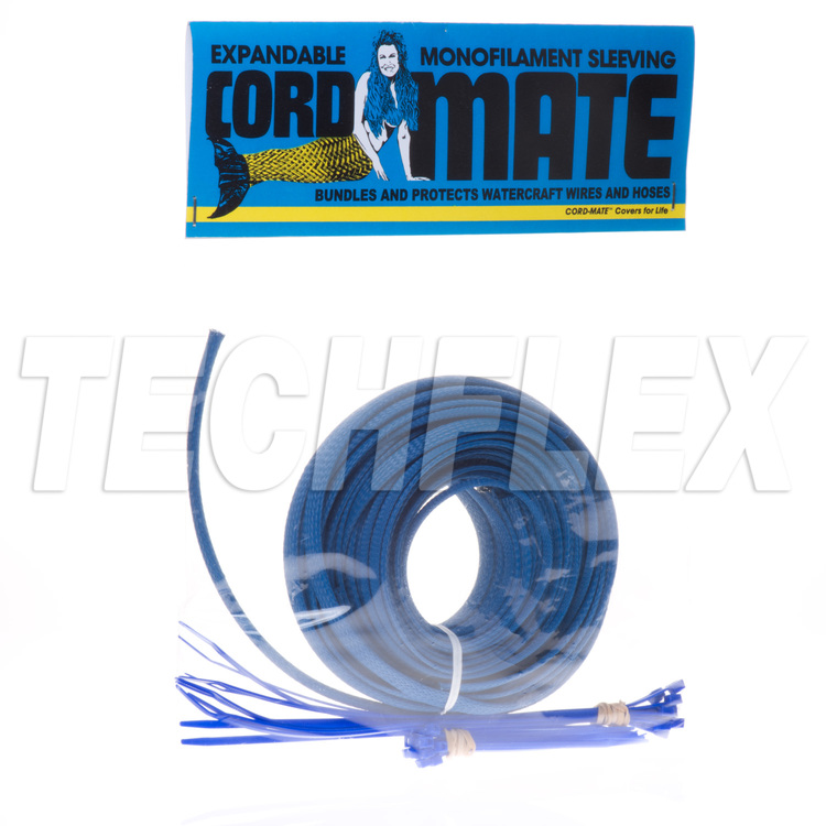 Cord-Mate - Watercraft Engine Compartment Trick Out Kit, Blue