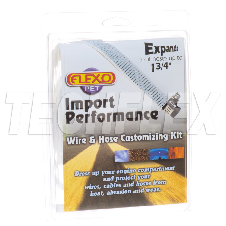 Sport/Import Performance Kits - White - 5 sizes - Shrinks & Ties
