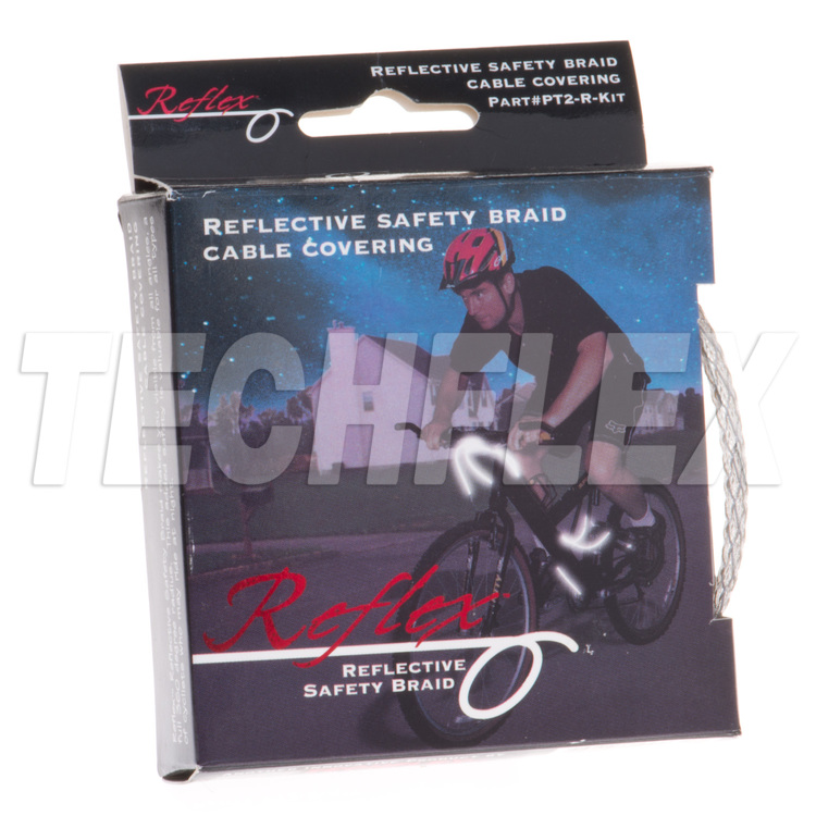 "REFLEX Bike Kit, 1/4"", Clear"