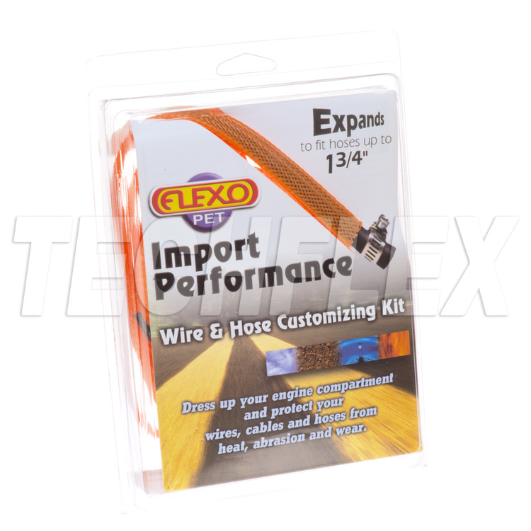 Sport/Import Performance Kits - Orange - 5 sizes - Shrinks & Ties