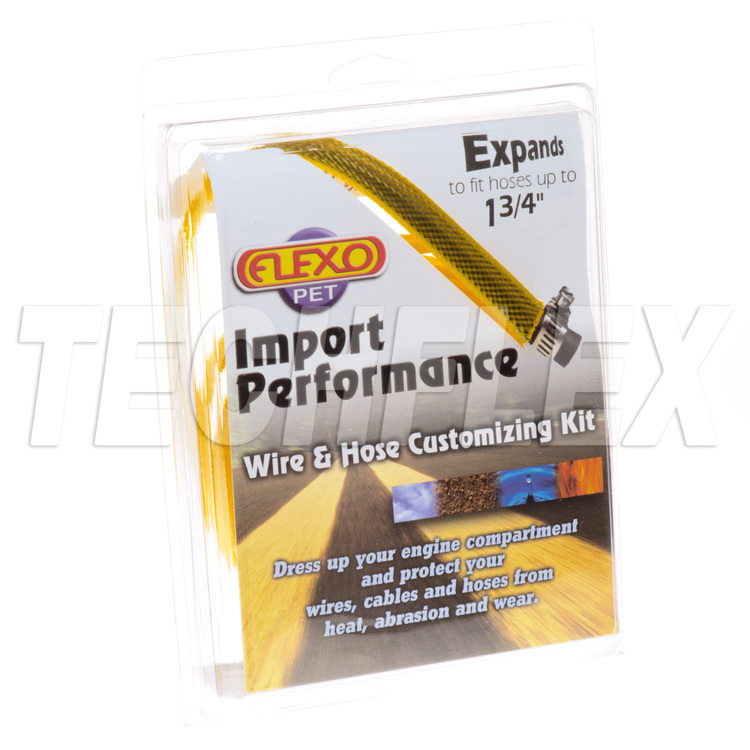 Sport/Import Performance Kits - Yellow - 5 Sizes - Shrinks & Ties