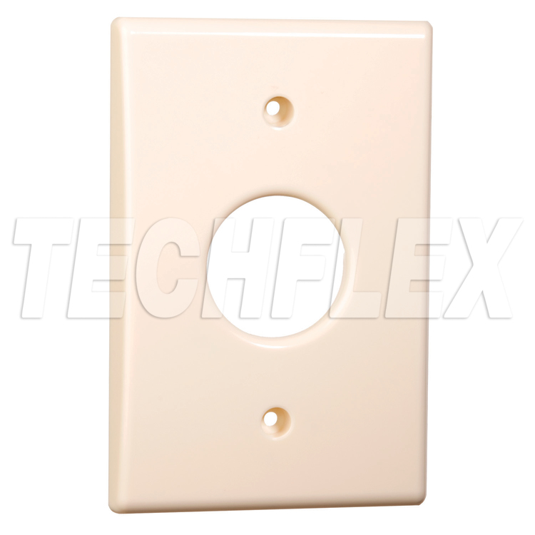 Wall Plate for Flexo® Mounting System Flange Parts - Almond
