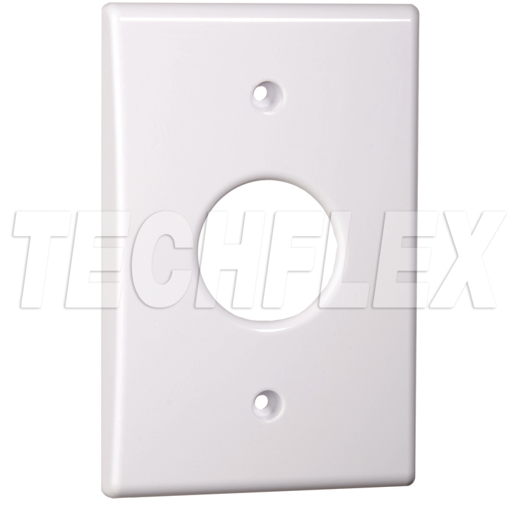 Wall Plate for Flexo® Mounting System Flange Parts - White