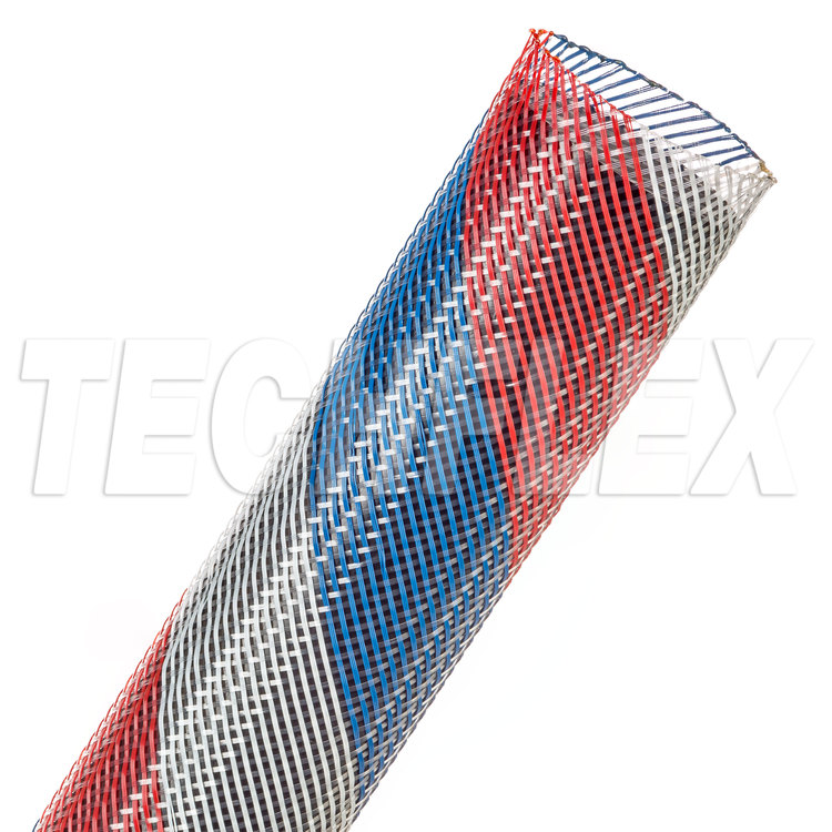"Flexo® PET - 1-1/4"" - Patriot (Red / White / Blue)"
