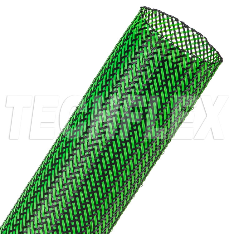 "Flexo® PET - 1-1/2"" - Ogre (UV Green / Black)"