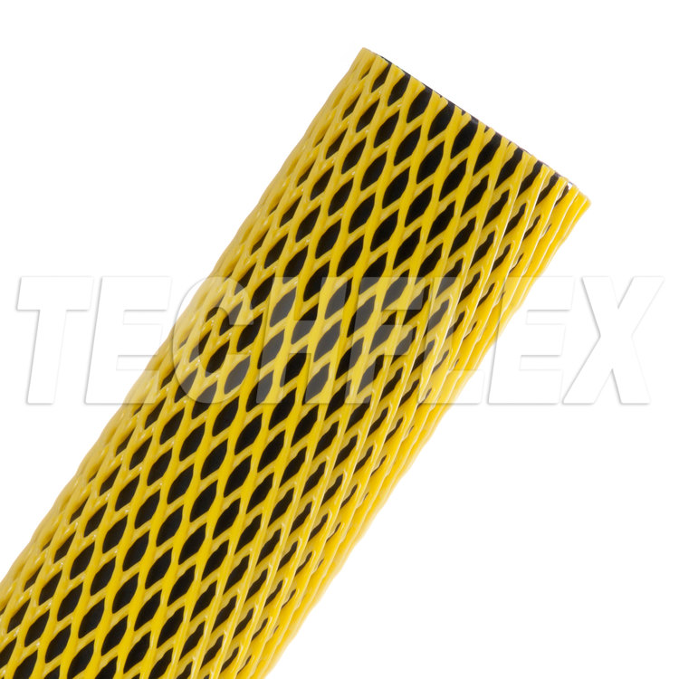 "Part Guard  - 1 1/2"" - Yellow Non-Elastic"
