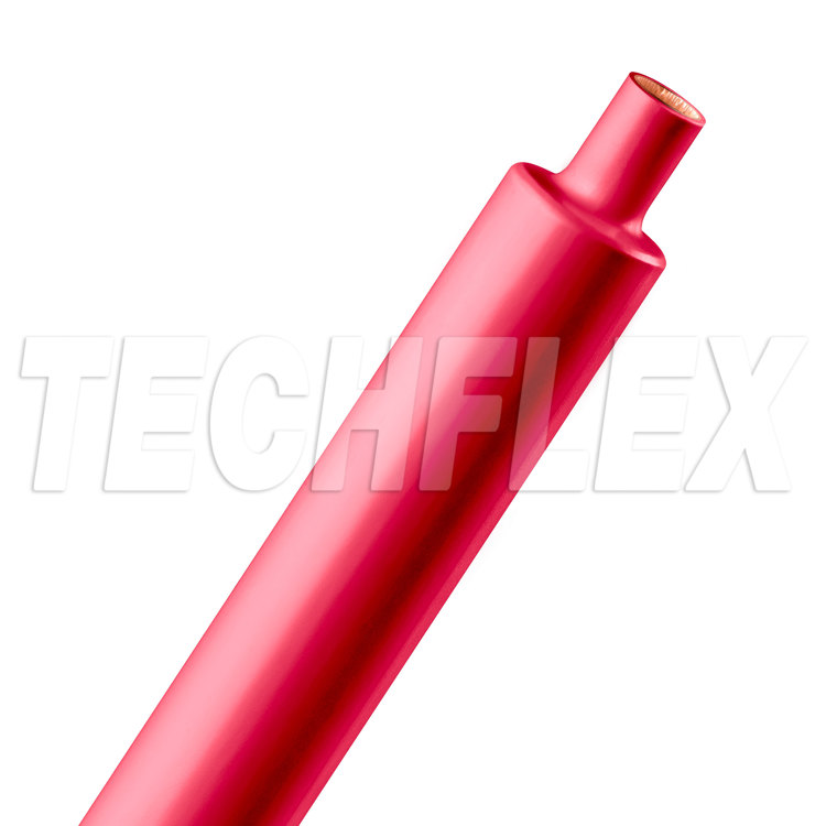 "Shrinkflex® 2:1 Dual Wall Adhesive - 3/4"" - 4ft Stick - Red"