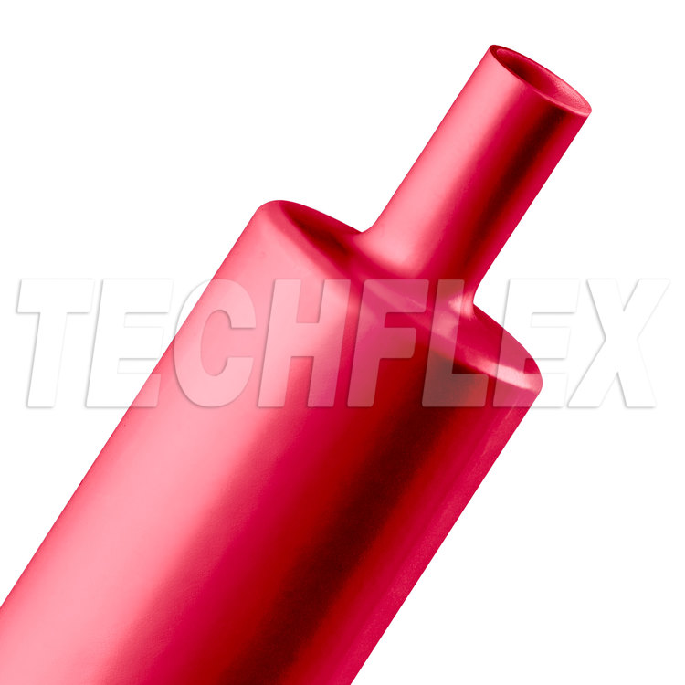 "Shrinkflex® Polyolefin Heatshrink Tubing - 3:1 - 2"" - Red"