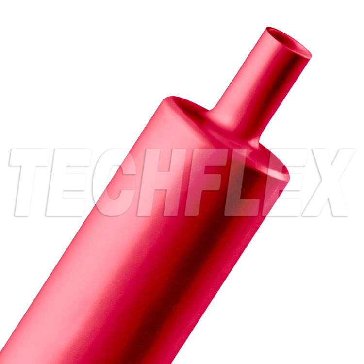 "Shrinkflex® Polyolefin Heatshrink Tubing - 3:1 - 1 1/2"" - Red"