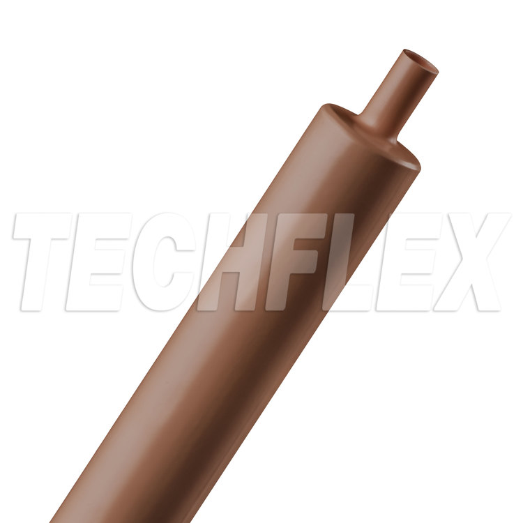 "Shrinkflex® Polyolefin Heatshrink Tubing - 3:1 - 3/4"" - Brown"