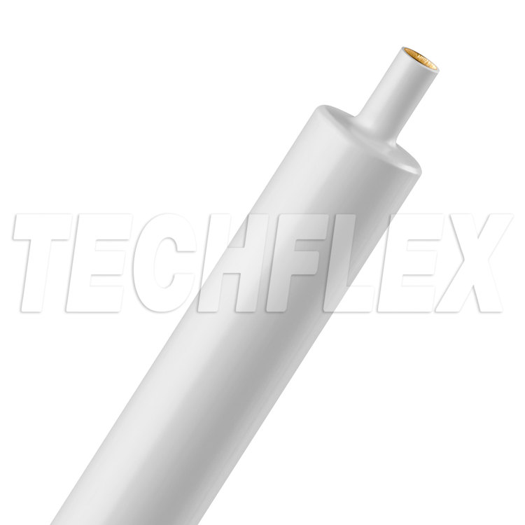 "Shrinkflex® 3:1 Dual Wall Adhesive - 3/4"" - 4ft Stick - White"