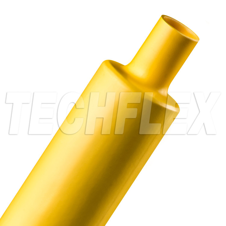 "Shrinkflex® Polyolefin Heatshrink Tubing - 2:1 - 1 1/2"" - Yellow"