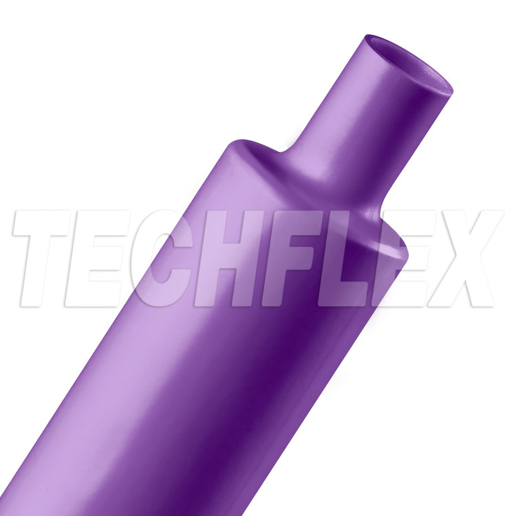 "Shrinkflex® Polyolefin Heatshrink Tubing - 2:1 - 1 1/2"" - Purple"