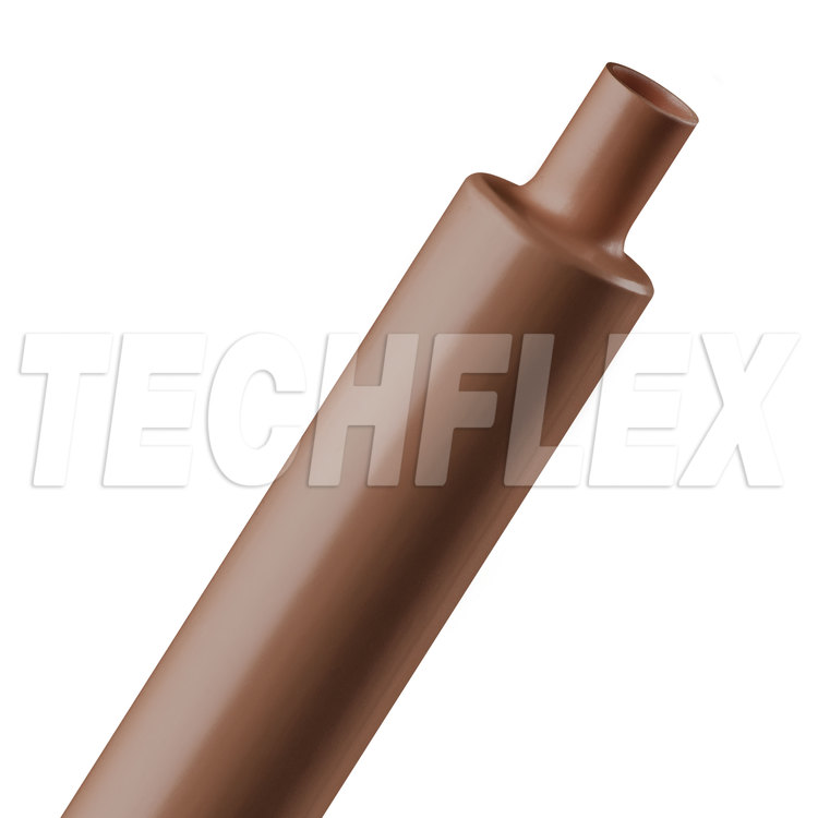 "Shrinkflex® Polyolefin Heatshrink Tubing - 2:1 - 1"" - Brown"