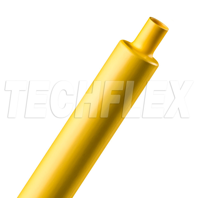 "Shrinkflex® Polyolefin Heatshrink Tubing - 2:1 - 3/4"" - Yellow"