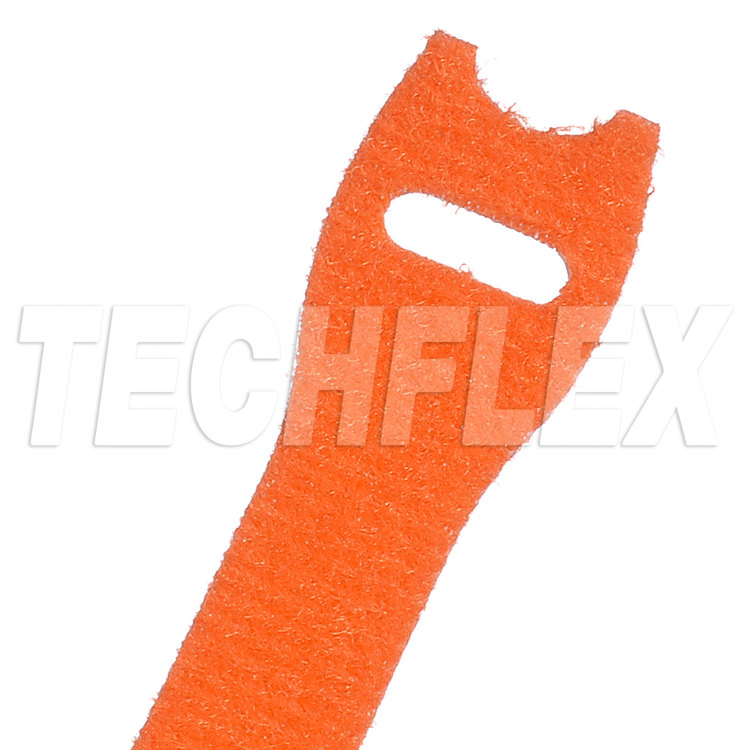 "VELCRO® Brand ONE-WRAP®, 3/4""X 12"", Orange"