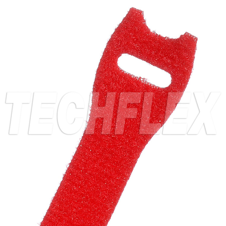 "VELCRO® Brand ONE-WRAP®, 3/4""X 18"", Red"